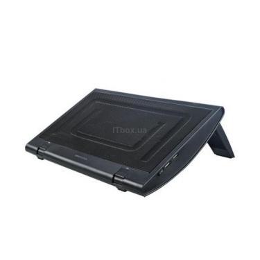 Подставка для ноутбука Deepcool WINDWHEEL BLACK - фото 1