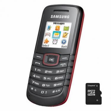 Мобильный телефон GT-E1081 Red Samsung (GT-E1081ZRT) - фото 1