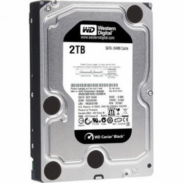"""Жорсткий диск 3.5"""" 2TB WD (WD2002FAEX) - фото 1"""