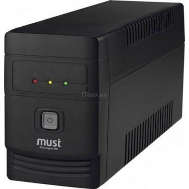 Пристрій безперебійного живлення PowerAgent 1060 USB Mustek (98-927-3E101) - фото 1