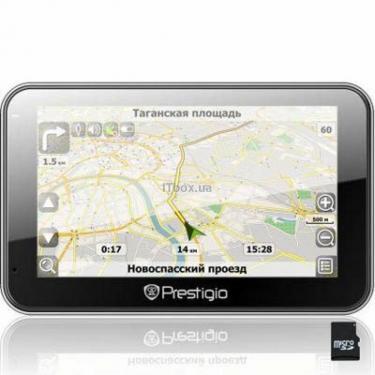 Автомобільний навігатор Prestigio GeoVision 5600GPRSHD (PGPS5600CIS2SMHDNV) - фото 1