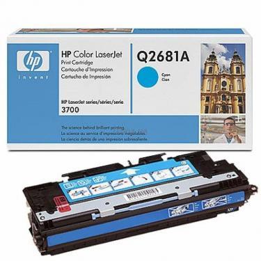 Картридж HP CLJ 3700 cyan (Q2681A) - фото 1