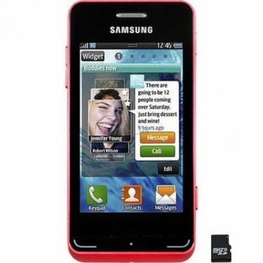 Мобильный телефон Samsung GT-S7230 (Wave723) Garnet Red La Fleur Фото