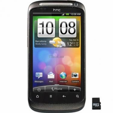 Мобильный телефон HTC S510e DesireS Muted Black Фото
