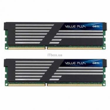 Модуль пам'яті для комп'ютера DDR3 4GB (2x2GB) 1600 MHz Geil (GVP34GB1600C8DC) - фото 1