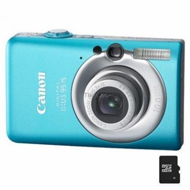 Цифровой фотоаппарат Digital IXUS 95is blue Canon (3455B001) - фото 1
