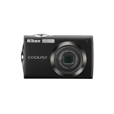 Цифровой фотоаппарат Coolpix S4000 black Nikon (VMA531E1) - фото 1