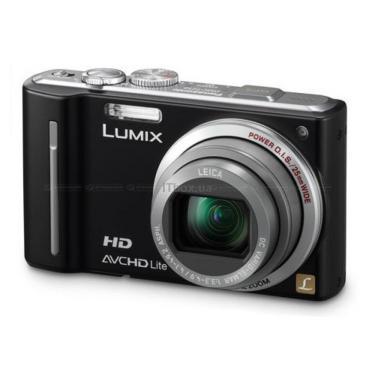 Цифровой фотоаппарат Lumix DMC-TZ10 black PANASONIC (DMC-TZ10EE-K) - фото 1