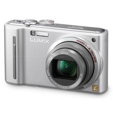 Цифровой фотоаппарат Panasonic Lumix DMC-TZ8EE-S silver Фото