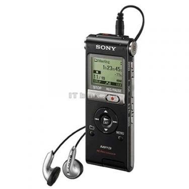 Цифровий диктофон SONY ICD-UX300B black (ICD-UX300/ BC) - фото 1