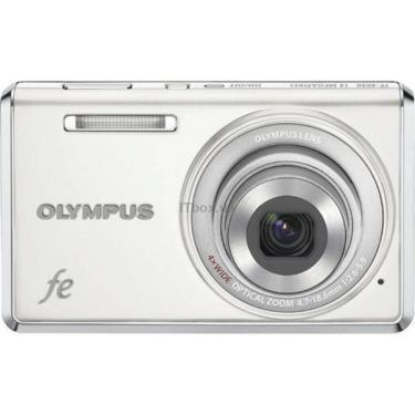 Цифровой фотоаппарат FE-4030 pure white OLYMPUS (N3832892) - фото 1