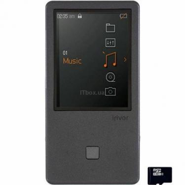 mp3 плеєр iRiver E150 8GB Black (3E1504C-EUBLN1) - фото 1