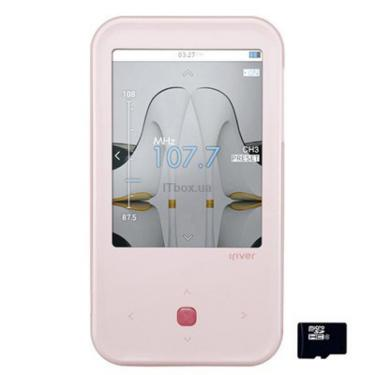mp3 плеєр iRiver S100 8GB Pink (3S01004C-RUPKN1) - фото 1
