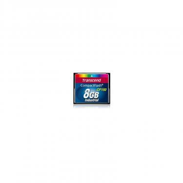 Карта пам'яті Transcend 8Gb Compact Flash 150x (TS8GCF150) - фото 1