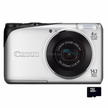 Цифровой фотоаппарат PowerShot A2200 silver Canon (4941B018AA) - фото 1