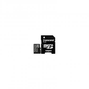Карта памяти Transcend 32Gb microSDHC class 4 (TS32GUSDHC4) - фото 1