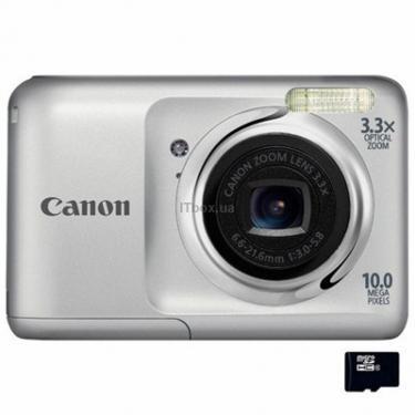 Цифровой фотоаппарат PowerShot A800 silver Canon (5027B023) - фото 1