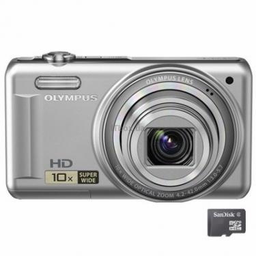 Цифровий фотоапарат VR-310 silver Olympus (N4299192) - фото 1