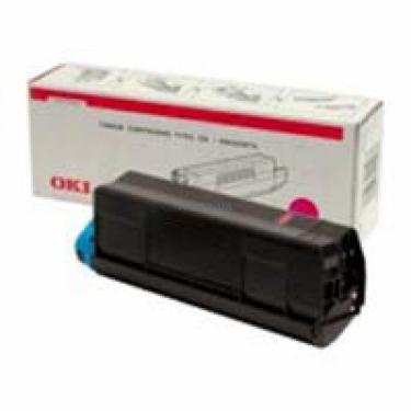 Тонер-картридж OKI C5100/5200/5300/5400 magenta (42127489) - фото 1