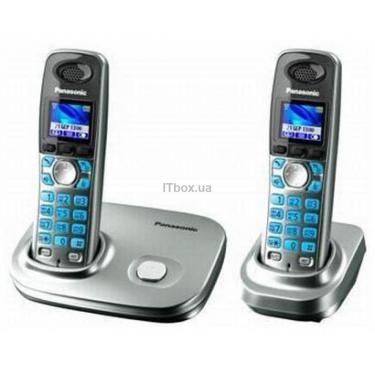 Телефон DECT PANASONIC KX-TG8012UAS - фото 1