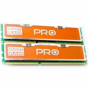 Модуль памяти для компьютера DDR3 4GB (2x2GB) 2000 MHz Goodram (GP2000D364L9A/4GDC) - фото 1