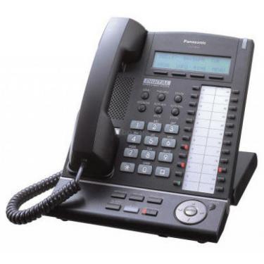Телефон KX-T7633 Black PANASONIC (KX-T7633UA-B) - фото 1