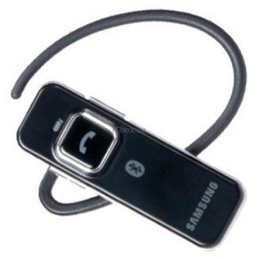 Bluetooth-гарнітура Samsung WEP 350 Black - фото 1