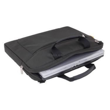 """Сумка для ноутбука 13.3"""" Compact Computer Brief SUMDEX (PON-456BK) - фото 1"""