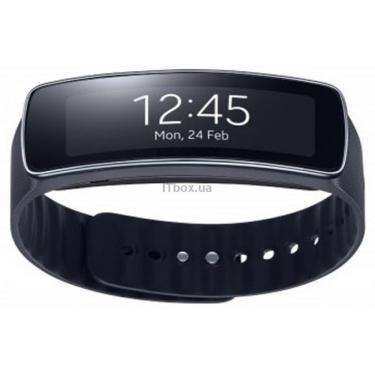 Смарт-часы Samsung SM-R3500 (Galaxy Gear 2 Fit) Black (SM-R3500ZKA) - фото 1