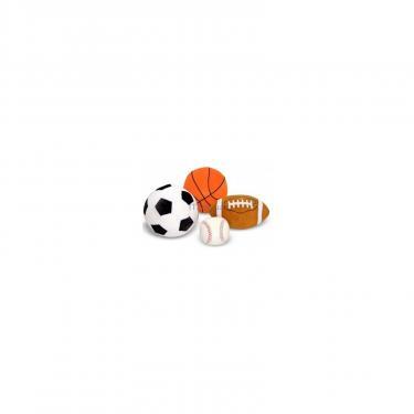 Мягкая игрушка Melissa&Doug Набор спортивных плюшевых мячиков Фото