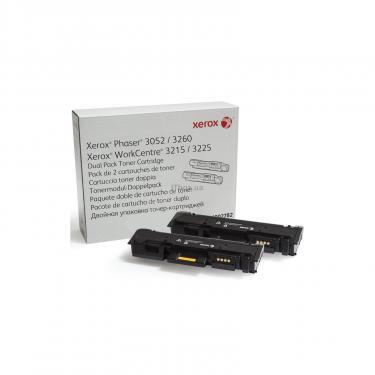 Картридж XEROX Phaser P3052/3260/WC3215/3225 Dual Pack (2*3K) (106R02782) - фото 1