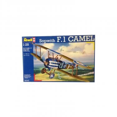 Сборная модель Revell Истребитель Sopwith Camel 1:28 Фото
