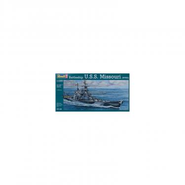Сборная модель Revell Корабль Battleship U.S.S. Missouri (WWII) 1:1200 Фото