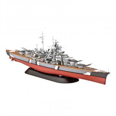 Сборная модель Revell Линейный корабль Battleship Bismarck 1:700 Фото 1