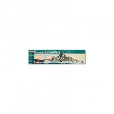 Сборная модель Revell Линейный корабль Battleship Bismarck 1:700 Фото