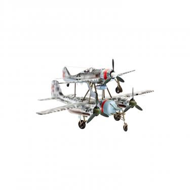 Сборная модель Revell Самолеты TA 154 Mistel & Focke Wulf Fw 190 1:48 Фото 1
