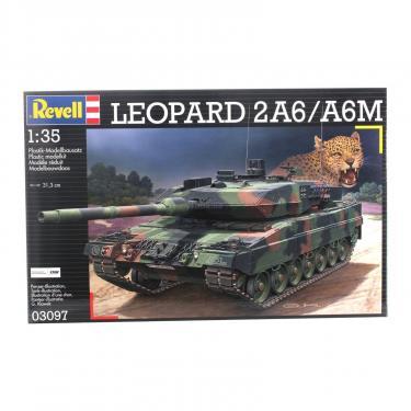Сборная модель Revell Танк Leopard 2A6 / A6M 1:35 Фото