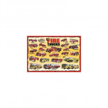 Пазл Eurographics История пожарных машин 100 элементов Фото 1