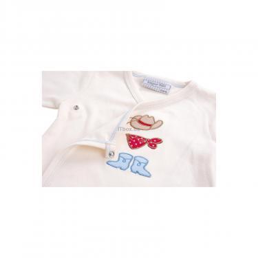 Набор детской одежды Luvena Fortuna человечек, штанишки, кофточка и шапочка Фото 7