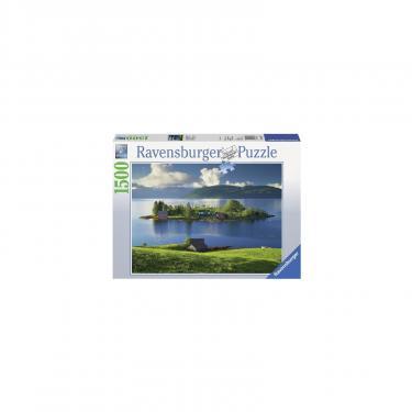 Пазл Ravensburger Остров в Хордаланне Норвегия 1500 элементов Фото