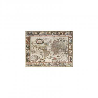 Пазл Ravensburger Карта Мира 1650 года 2000 элементов Фото 1