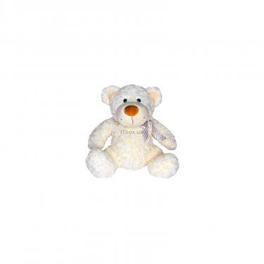 Мягкая игрушка Grand Медведь белый с бантом 33 см Фото