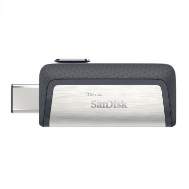 USB флеш накопитель SANDISK 128GB Ultra Dual USB 3.0/Type-C (SDDDC2-128G-G46) - фото 2