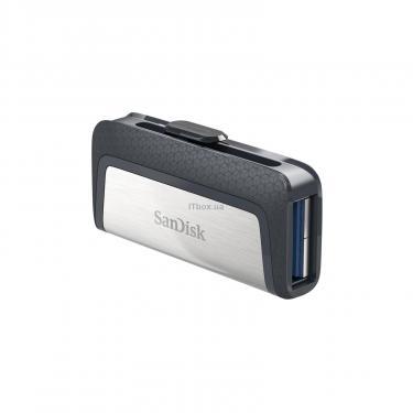 USB флеш накопитель SANDISK 128GB Ultra Dual USB 3.0/Type-C (SDDDC2-128G-G46) - фото 3