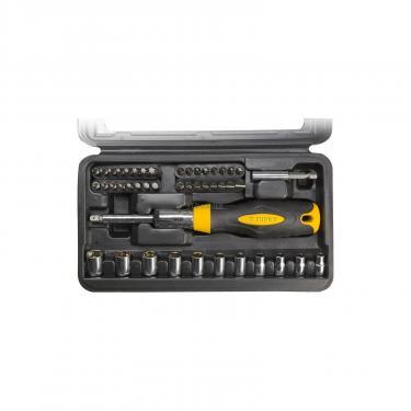 Набор инструментов Topex насадок 39D524 с держателем, Cr-V (39D524) - фото 1
