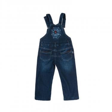 Комбинезон A-Yugi джинсовый утепленный (1074-104B-blue) - фото 2