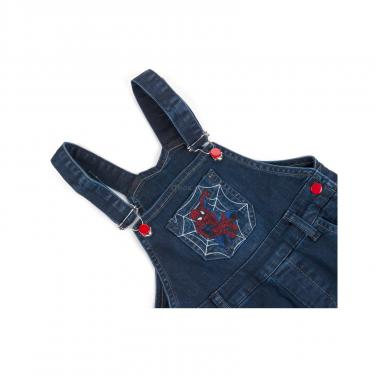 Комбинезон A-Yugi джинсовый утепленный (1074-104B-blue) - фото 4