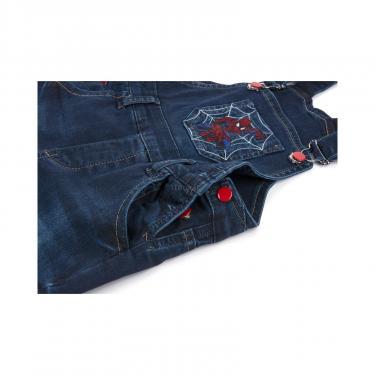 Комбинезон A-Yugi джинсовый утепленный (1074-104B-blue) - фото 5