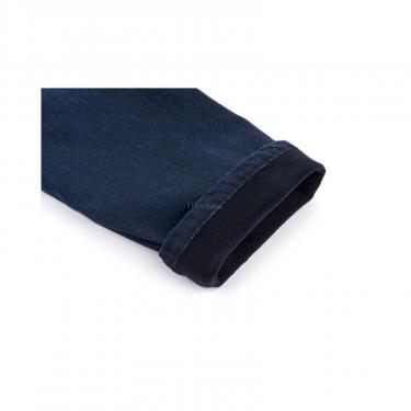 Комбинезон A-Yugi джинсовый утепленный (1074-104B-blue) - фото 6