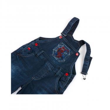 Комбинезон A-Yugi джинсовый утепленный (1074-104B-blue) - фото 7